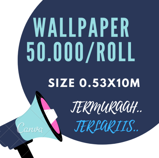 Wallpaper Dinding WALLPAPER 50.000 wp sale 50